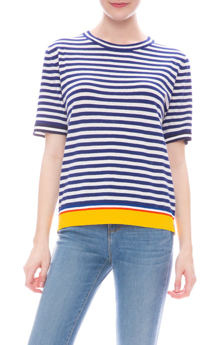 Corinne Stripe Sweater Shirt
