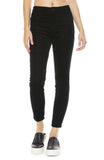 J Brand Alana High-Rise Cord in Black