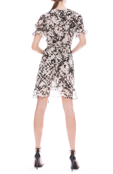 Misa Los Angeles Everly Wrap Dress
