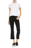 J Brand Womens Selena Cropped Boot Cut Jean in Fearless