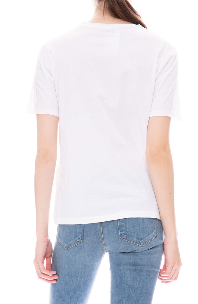 Kule Modern O Gosh Short Sleeve T-Shirt in White