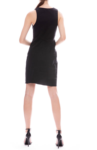 A.L.C. Jina Mini Dress in Black
