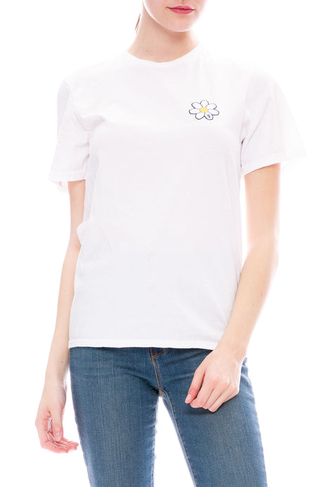 Exclusive Daisy Patch Tee
