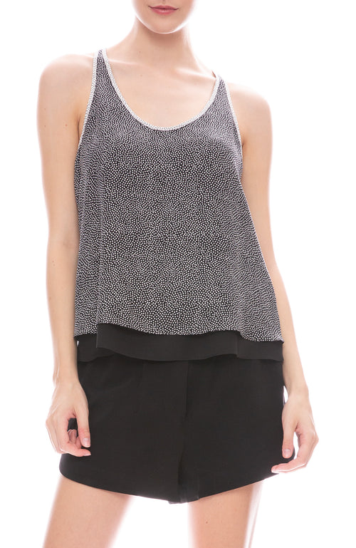 A.L.C. Audrie Top n Black and White Dots
