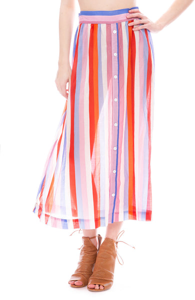 Xirena Roman Stripe Skirt in Sorento