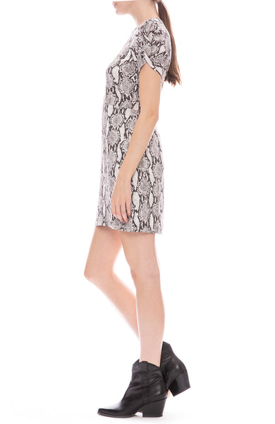 Brinkley Snake Mini Dress