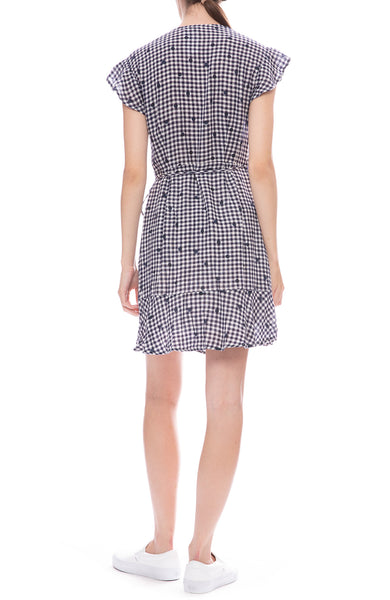 Rails Leanne Mini Wrap Dress