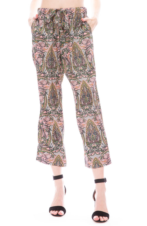 Icons Draper PJ Pants in Pink Paisley