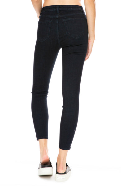 L'Agence Margot High Rise Ankle Skinny in Eclipse at Ron Herman