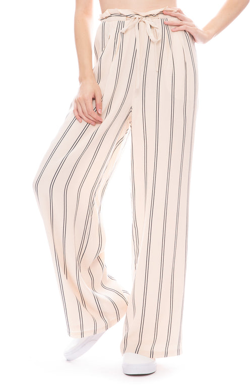 Rails Rooney Pant in Peach and Navy Stripe