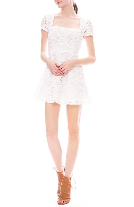 Maiden Mini Eyelet Dress