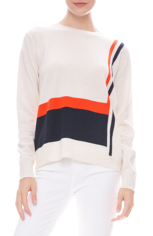 Kule Albers Cashmere Sweater in Cream