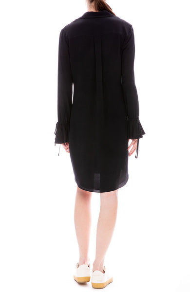 Bell Sleeve Shirt Dress
