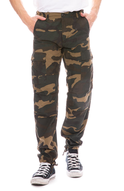 Carhartt WIP Mens Laurel Camouflage Print AviationCargo Pants