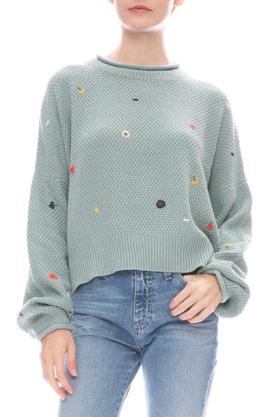 The Great Poppy Sweater in Sage
