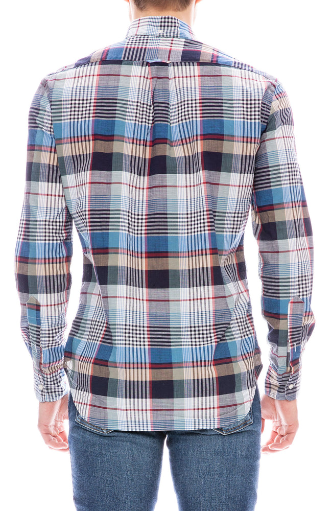 Gitman Bros Vintage Plaid Long Sleeve Button Down Shirt
