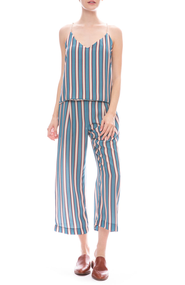 Le Superbe Paloma Stripe Pants and Cami