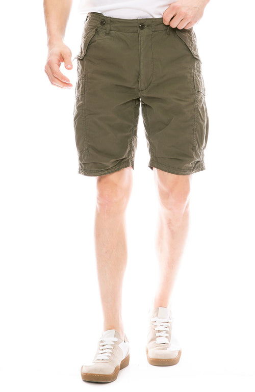 Relwen Vintage Commando Shorts in Surplus Olive Green