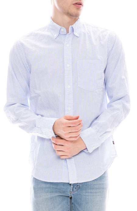 Cotton Linen Blend Shirt