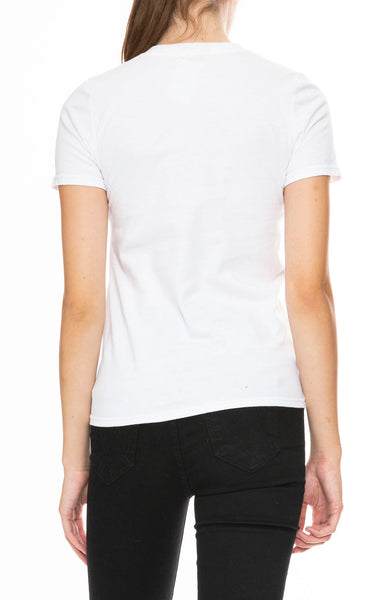 Ron Herman Exclusive Heart Patch T-Shirt in White