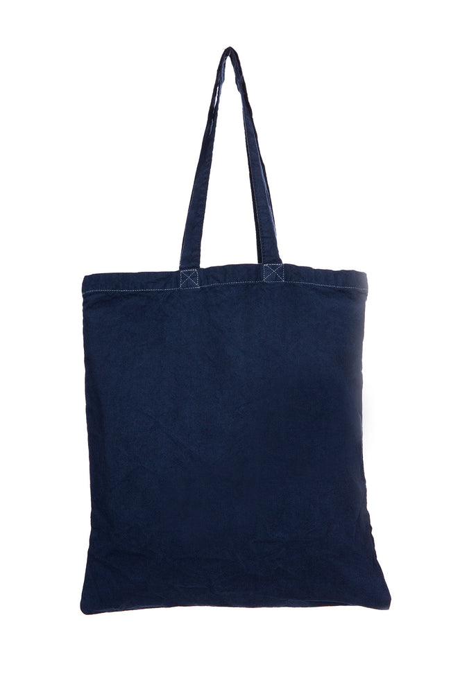 Ron Herman Exclusive RH Smile Tote Bag in Navy