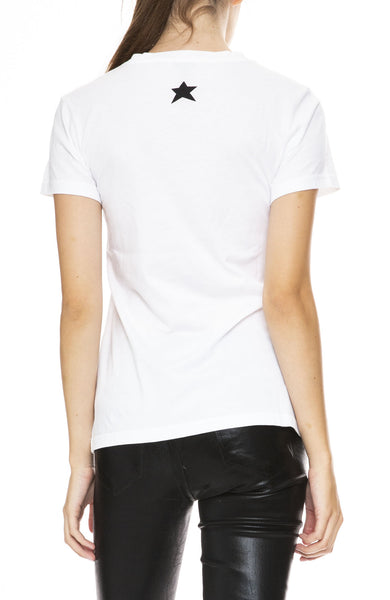 Bella Freud Dog T-Shirt in White at Ron Herman
