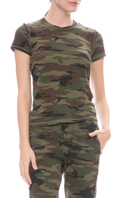 Alessi Camo Baby Tee