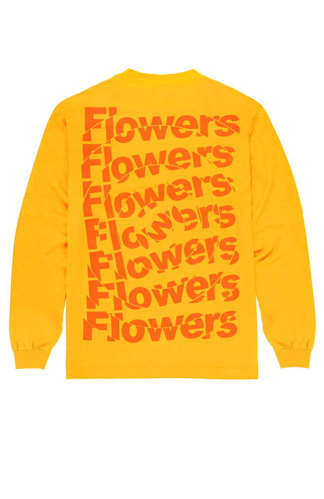 Shatter Long Sleeve Flowers Shirt