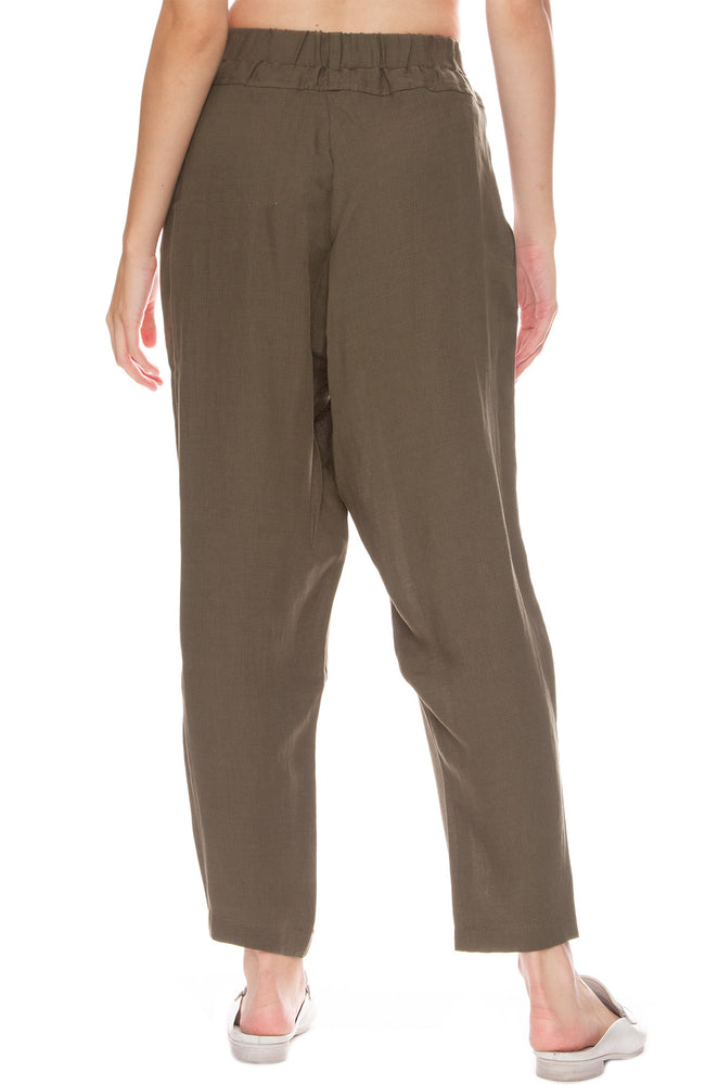Black Crane Carpenter Pants in Sand