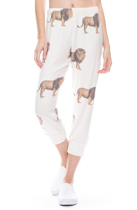 Lions Cozy Cropped Sweatpants