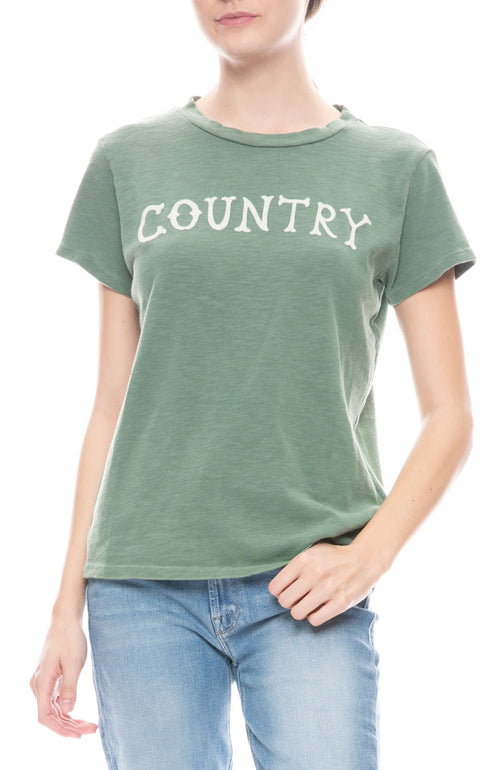 Boxy Goodie Country Tee