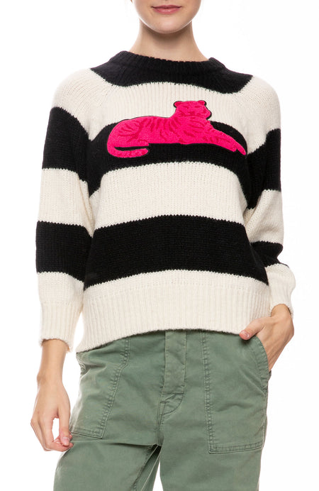 The Boat Square Striped Sweater