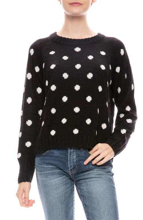 Janine Polka Dot Sweater