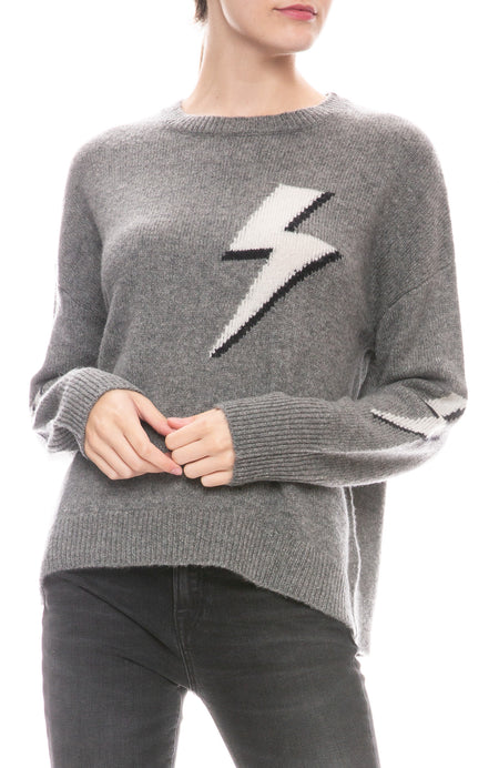 Virgo Lightning Bolt Sweater