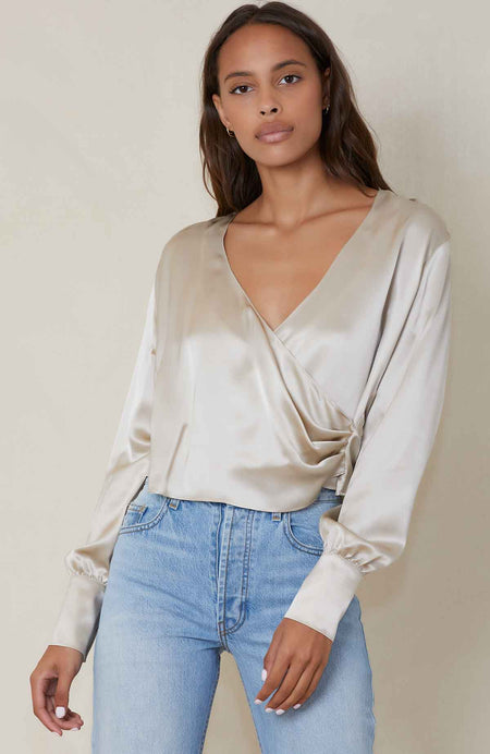 Chance Silk Blouse