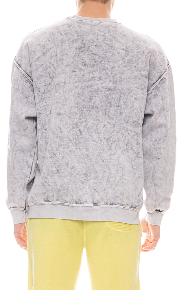 Brea Crystal Wash Sweatshirt