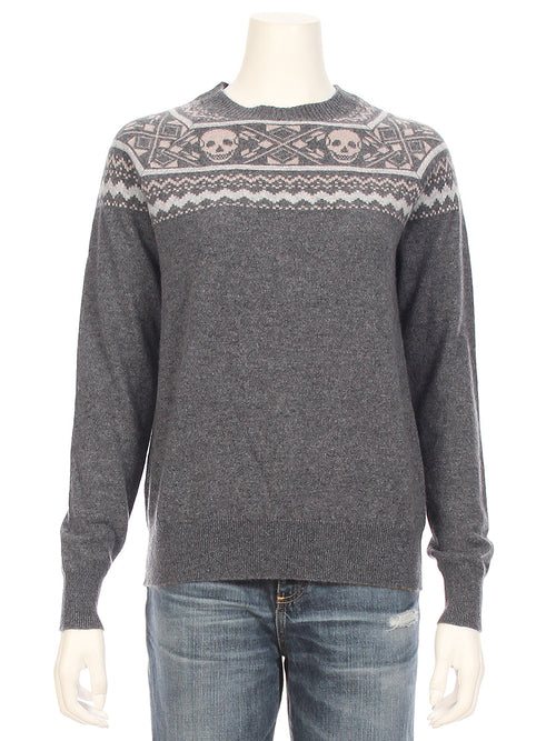Miley Fair Isle Skull Sweater