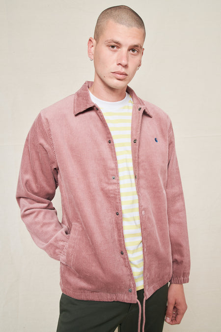Corduroy Coach Jacket