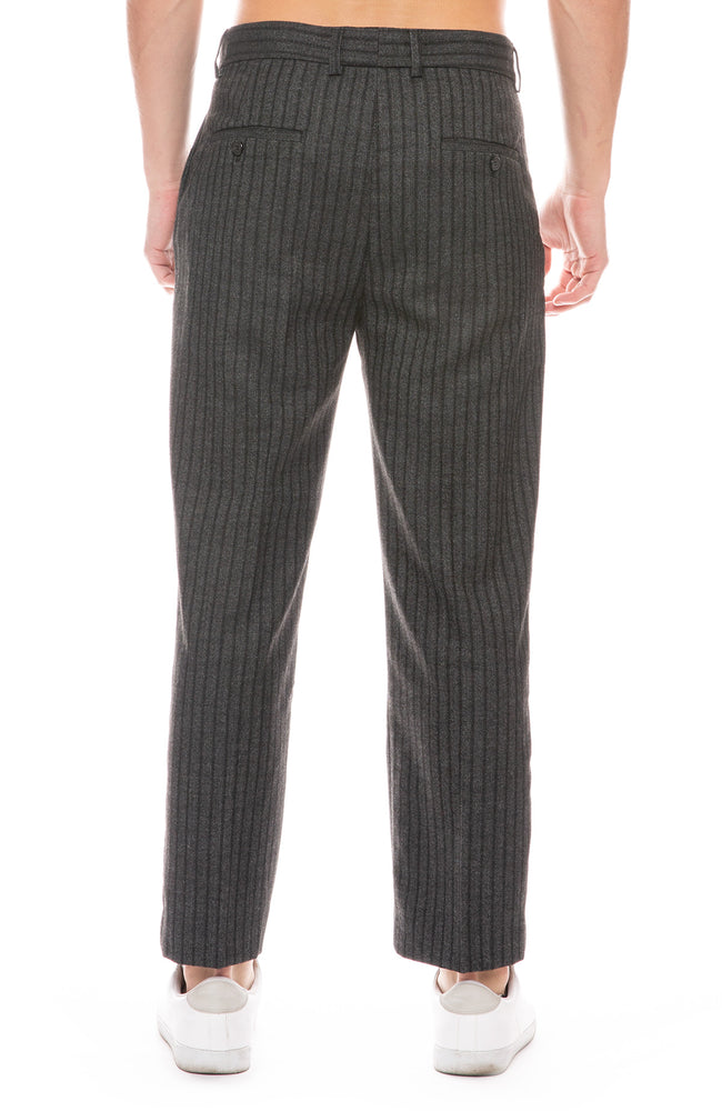 Stripe Cut Trouser