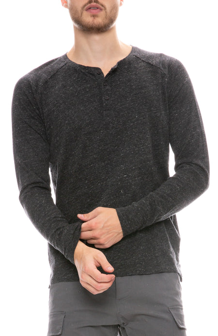 Long Sleeve League Henley