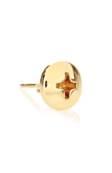 Alison Lou 14K Screw Head Stud Earring at Ron Herman