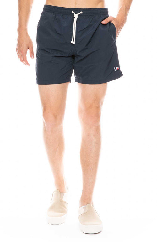 Tri-Color Fox Swim Short
