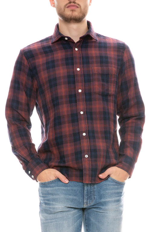 Paul Double Faced Plaid Shirt