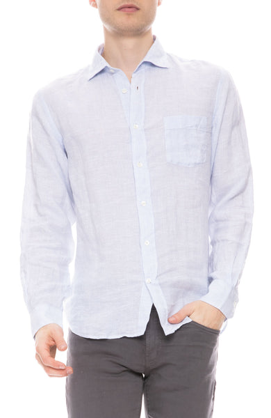 Paul Oxford Striped Linen Shirt