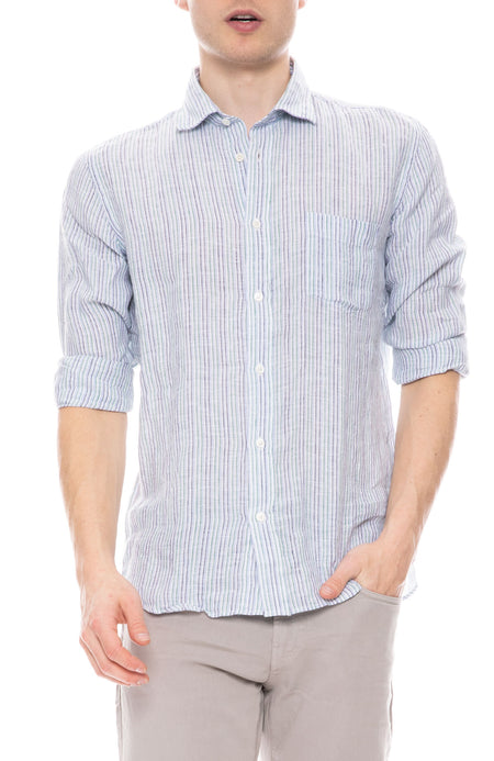 Paul Fancy Striped Linen Shirt