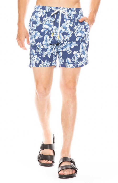 Tropical Flowers Swim Shorts