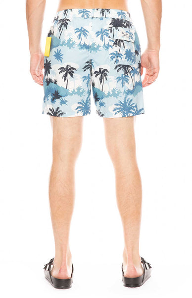 Palm Tree Swim Shorts