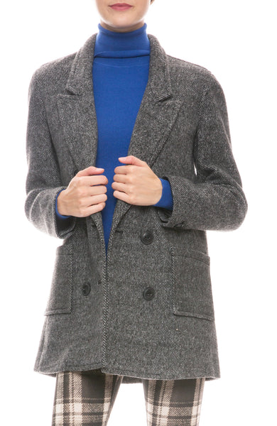 Fleece Boyfriend Blazer