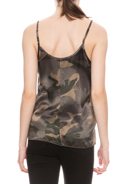 Silk Jungle Camo Cami