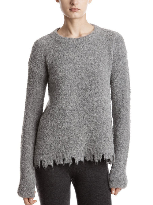 Destroyed Hemline Sweater